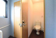 1F・ウォシュレット付きトイレ。