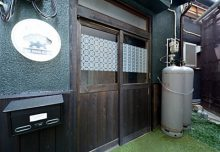 松寿園の入り口。