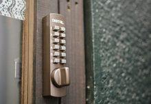 入り口の鍵