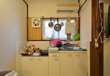 1F・キッチン。