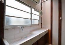 103号室の洗面台の様子。