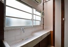 103号室の洗面台