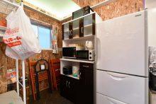 冷蔵庫・電子レンジ・炊飯器・オーブントースター等。