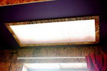 208号室の照明。