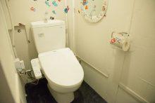 トイレはウォッシュレット付き